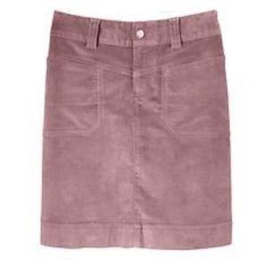 Athleta Washed Velvet Dema Skirt